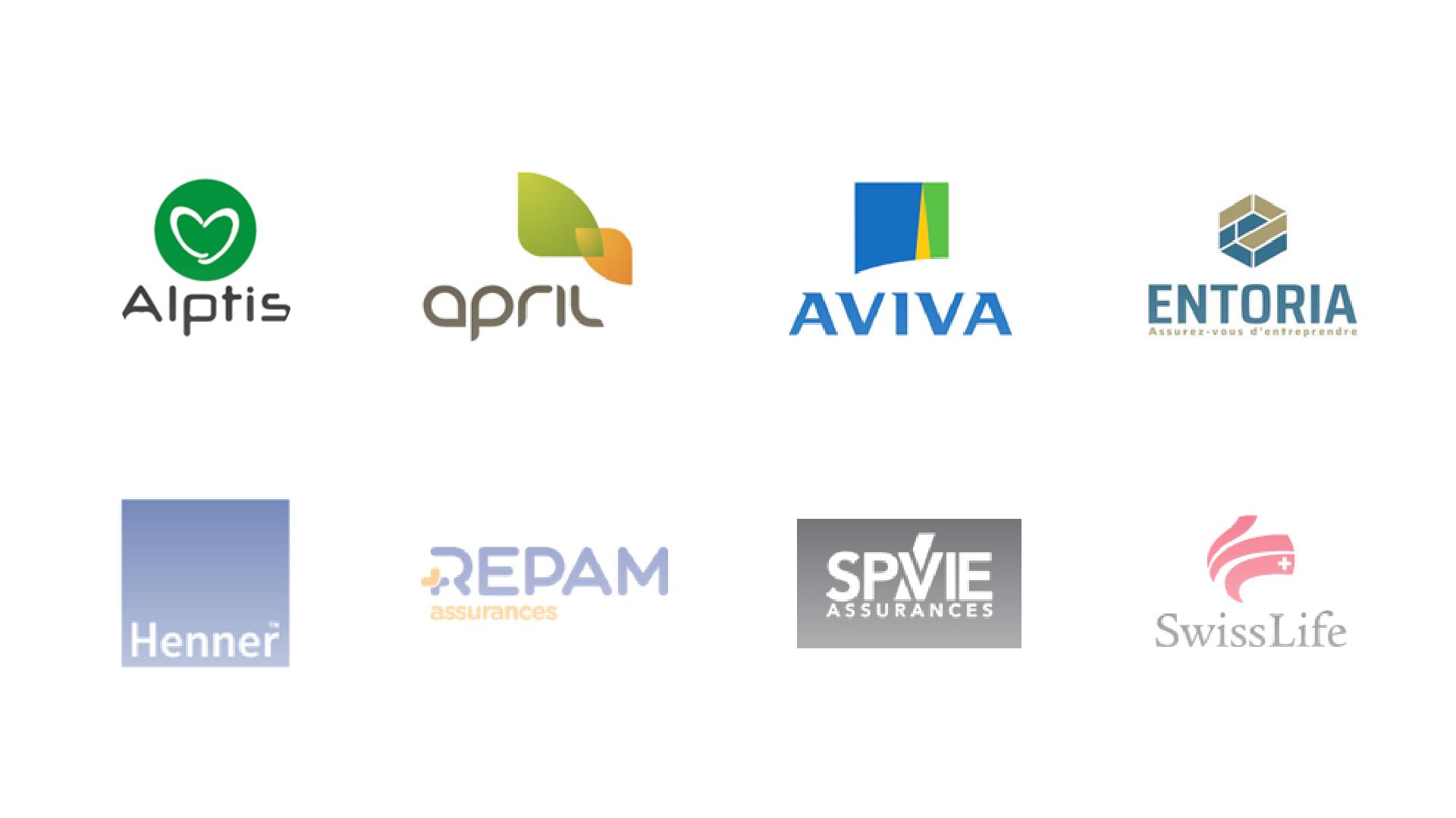 Logos des compagnies
