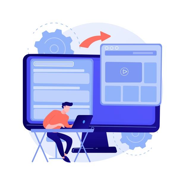 illustration-vectorielle-microsite-developpement-concept-abstrait-developpement-web-microsite-petit-site-internet-service-conception-graphique-page-destination-metaphore-abstraite-equipe-pr